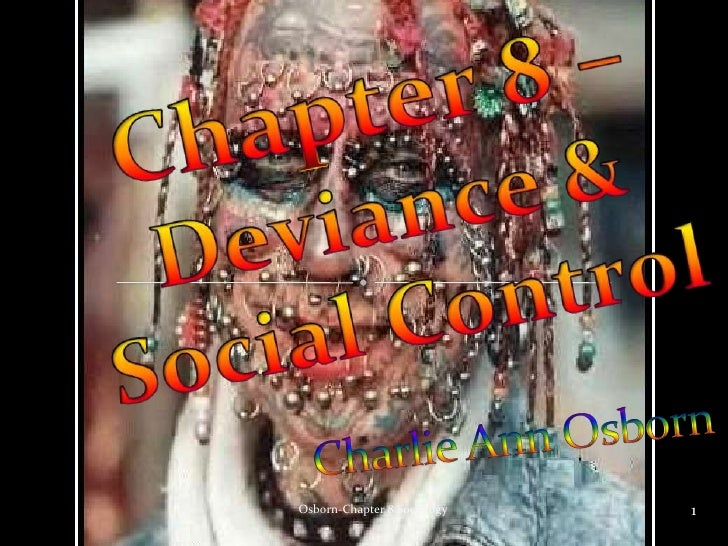 Chapter 8  Deviance