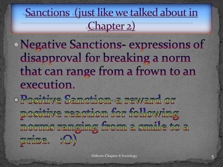 Positive Sanction Positive Sanction a