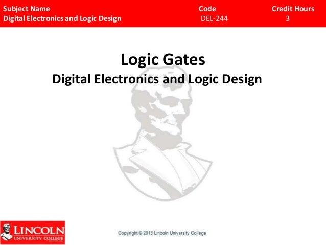 Chap iii-Logic Gates