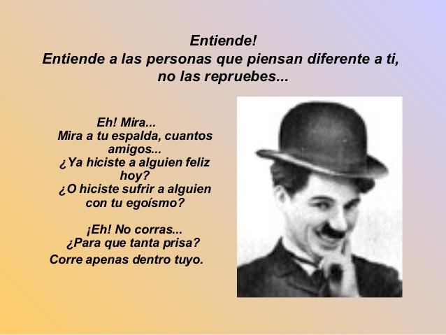 Charles Chaplin - Pensador