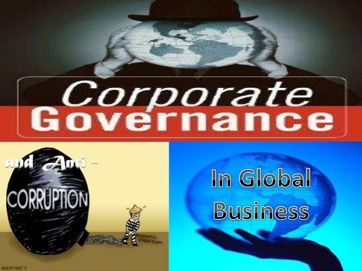 Chapr. 6   Corporate Governance in Global Business