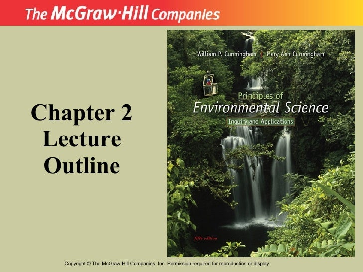 Copyright  ©  The McGraw-Hill Companies, Inc. Permission required for reproduction or display. Chapter 2 Lecture Outline