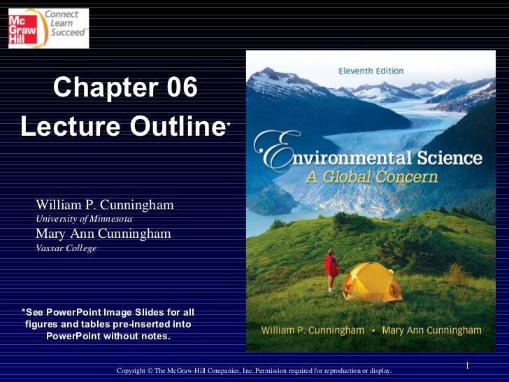 William P. Cunningham University of Minnesota Mary Ann Cunningham Vassar College Copyright © The McGraw-Hill Companies, In...
