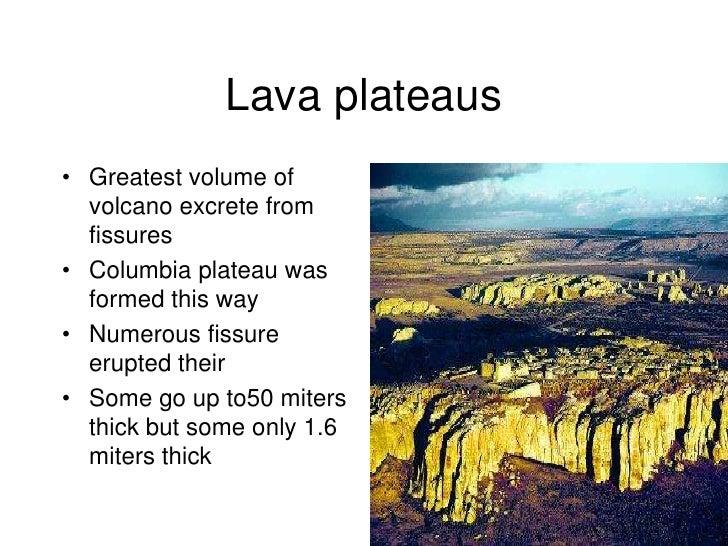 Chapt10 1 volcanoes - Definition d un plateau ...