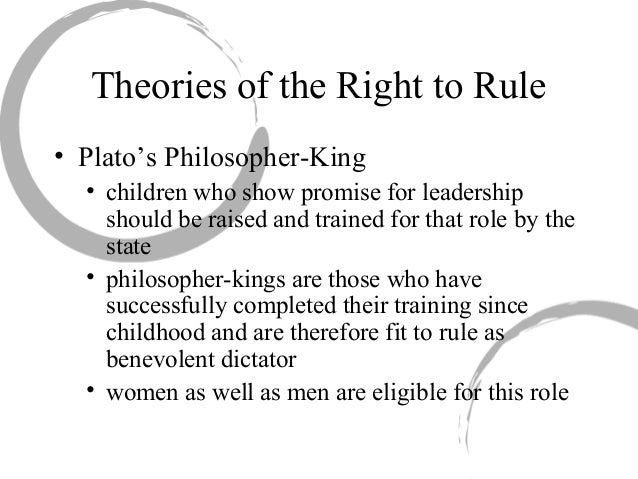 five characteristics of platos philosopher king