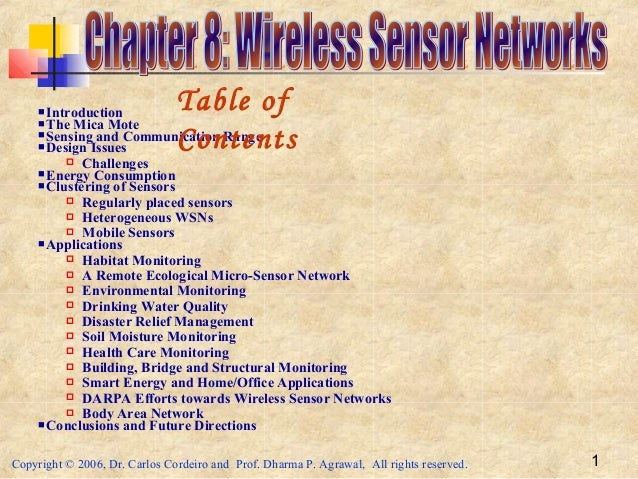 Adhoc and Sensor Networks - Chapter 08