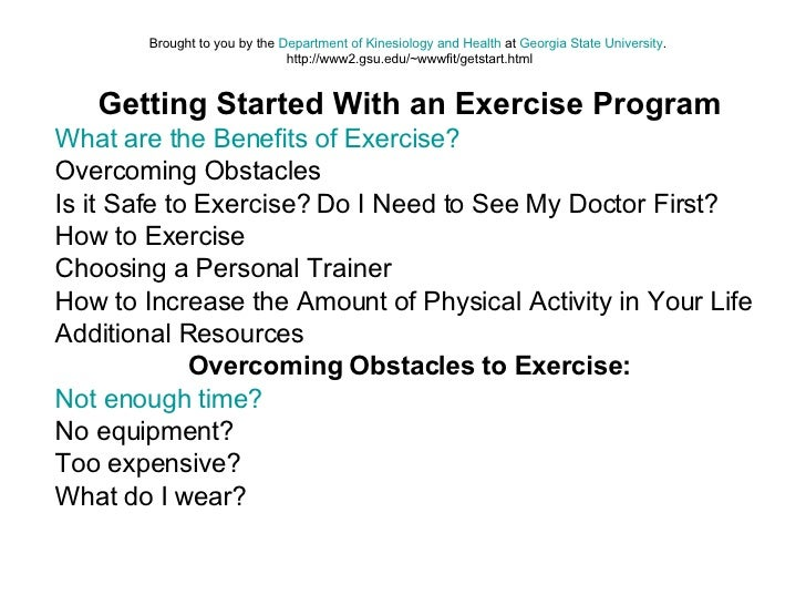 Brought to you by the  Department of Kinesiology and Health  at  Georgia State University .  http://www2.gsu.edu/~wwwfit/g...