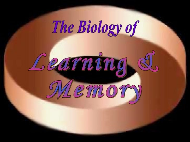 The Biology of Learning & Memory