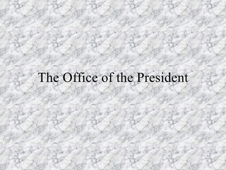 GOVThePresidency