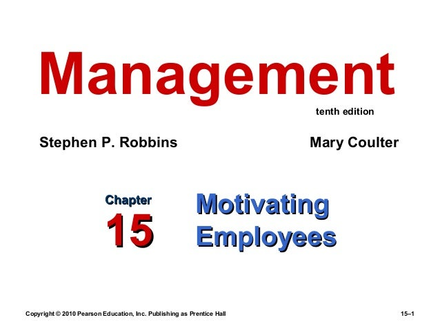 Chapter 15 management (10 th edition) by robbins and coulter