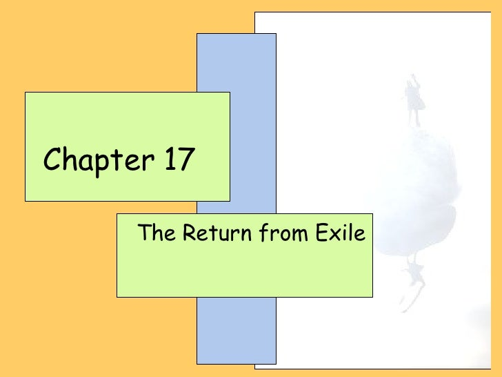 Chapter 17 The Return from Exile