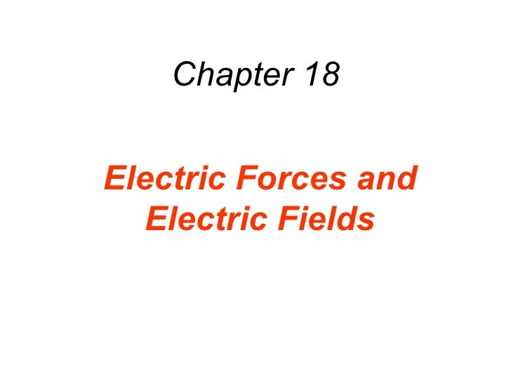 AP Physics - Chapter 18 Powerpoint