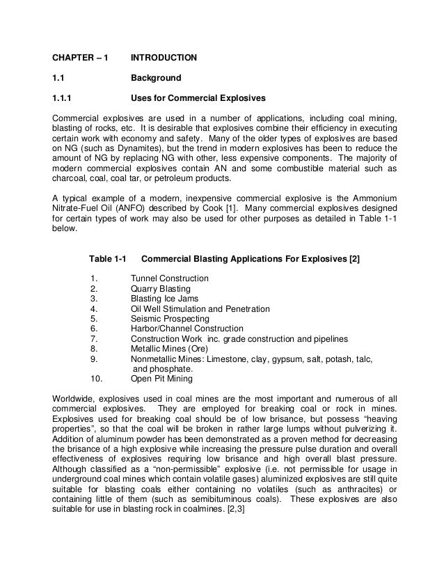 components chapter 3 dissertation