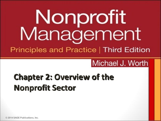 © 2014 SAGE Publications, Inc.Chapter 2: Overview of theChapter 2: Overview of theNonprofit SectorNonprofit Sector