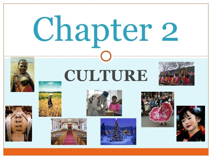 Chapter 2  Culture