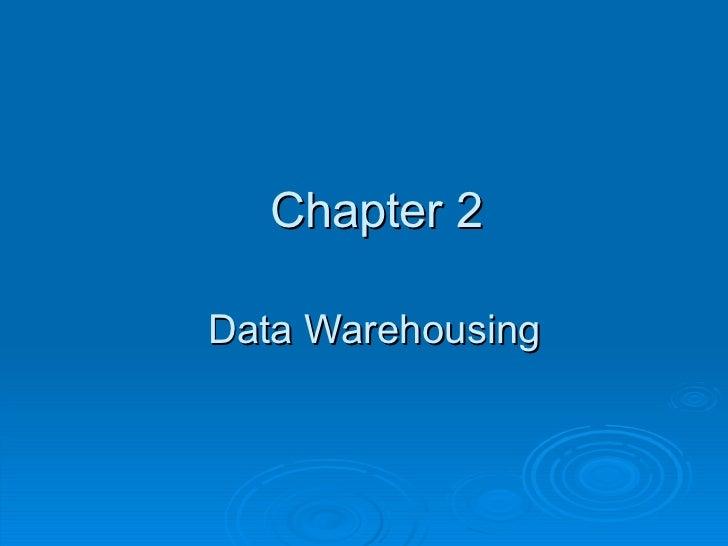 Chapter 2-data-warehousingppt2517 vero