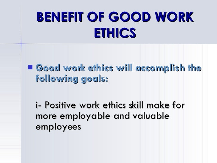 The Good Work Ethics In Workplace Pictures to Pin on ... Good Ethics