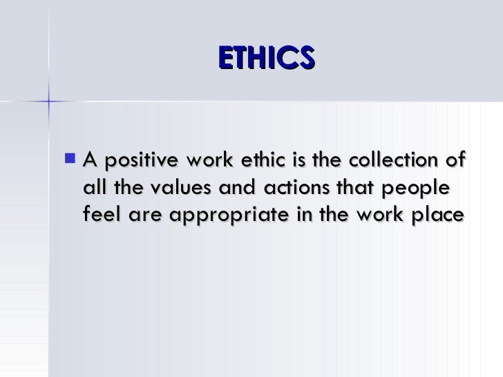 work ethics reflection Development of practitioners working in the  involves critical reflection on  morality and the ability to make  professional ethics: the moral commitments of.