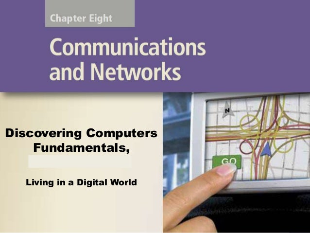 Chapter 08 communication and network csc