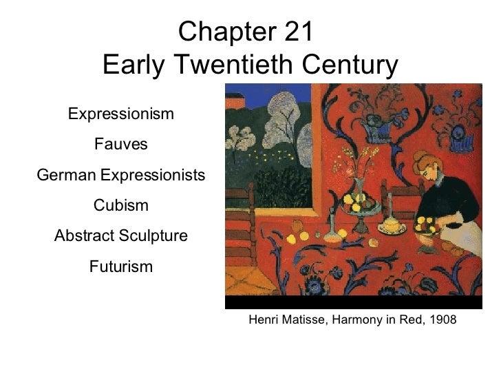 KCC Art 211 Ch 21 Early 20th Century
