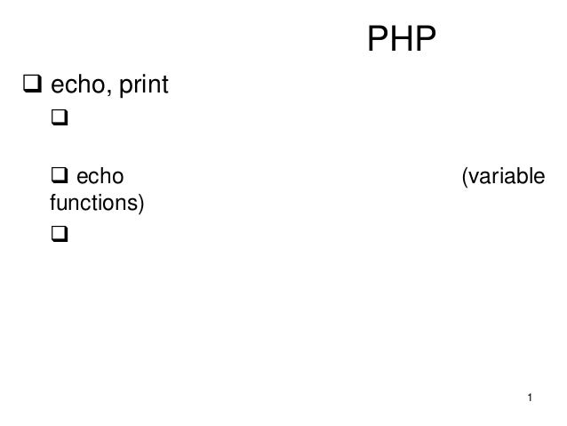 PHP Tutorial (funtion)