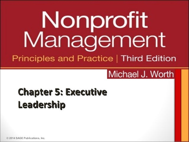 Overview of Nonprofit Executive Leadership