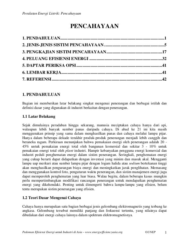 Chapter   lighting (bahasa indonesia)