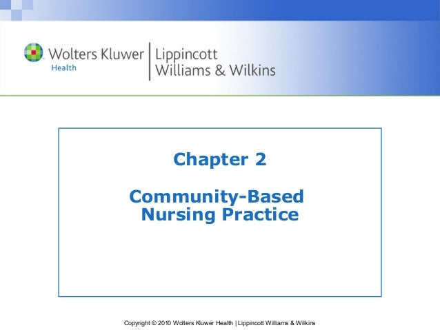 community based nursing practice