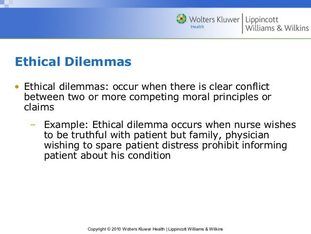 concept of ethical dilemma