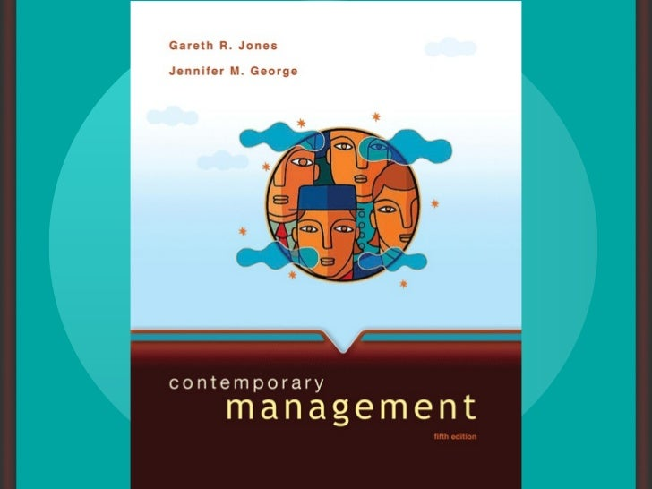 chapter one                        Managers and ManagingMcGraw-Hill/IrwinContemporary Management, 5/e                     ...