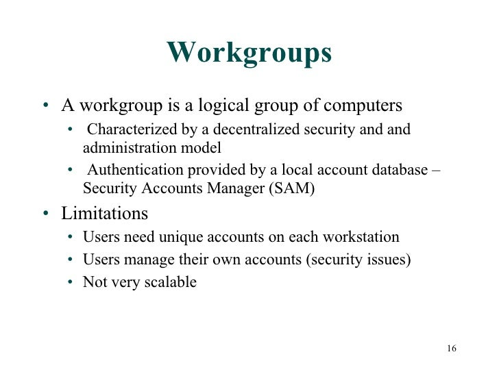 windows workgroup vs windows 2003 security How to change workgroup in windows 10 by yuri he is also very interested in customer security yuri can be found as windows community moderator and wiki author.