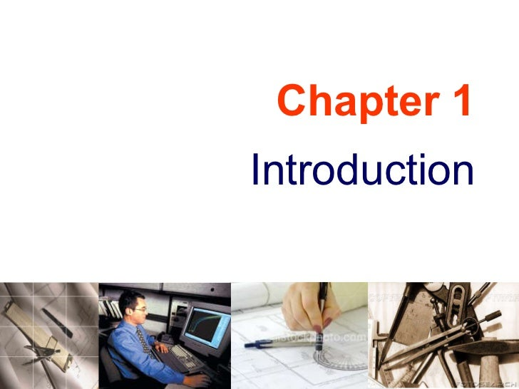 Engineering Drawing: Chapter 01 introduction