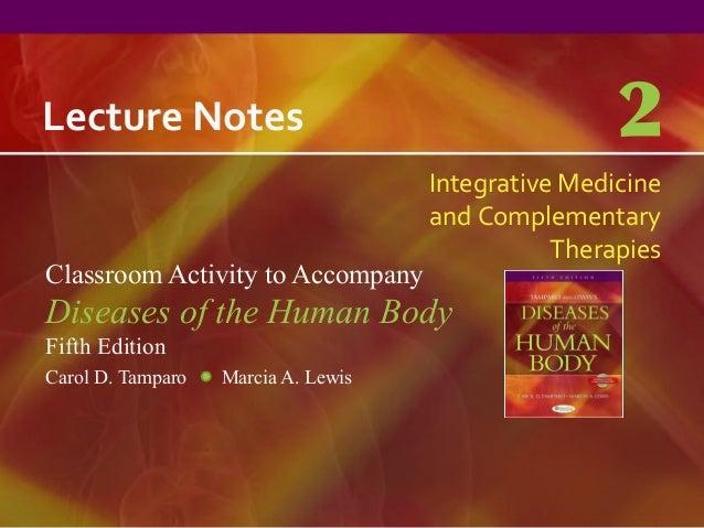Lecture Notes                                        2                                     Integrative Medicine           ...