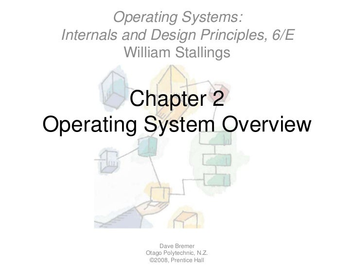 Chapter 2Operating System Overview<br />Dave Bremer<br />Otago Polytechnic, N.Z.©2008, Prentice Hall<br />Operating System...