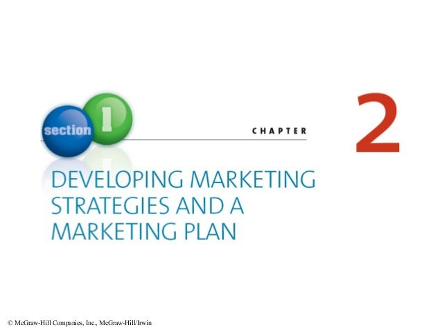 Chapter 02 MKT120 Strategies and Plan