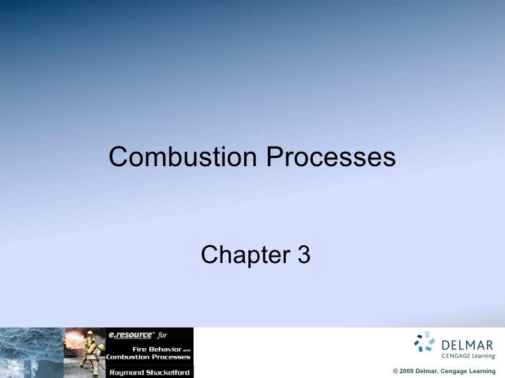 Chapter 03-Combustion Processes