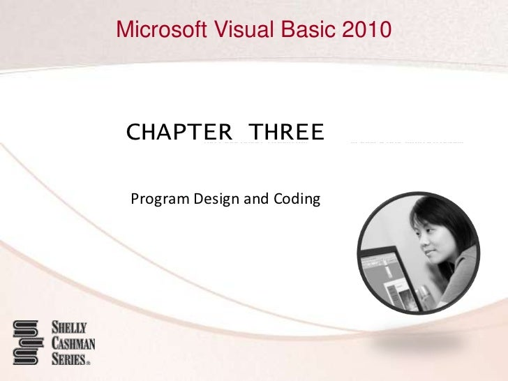 Chapter 03 - Program Coding and Design