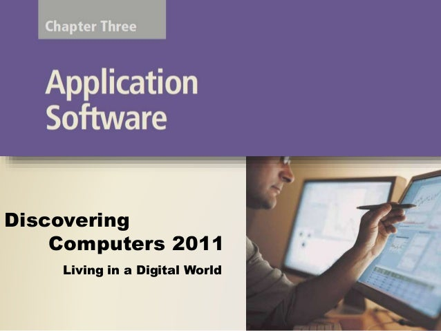 Chapter 03 SOFTWARE APPLICATION