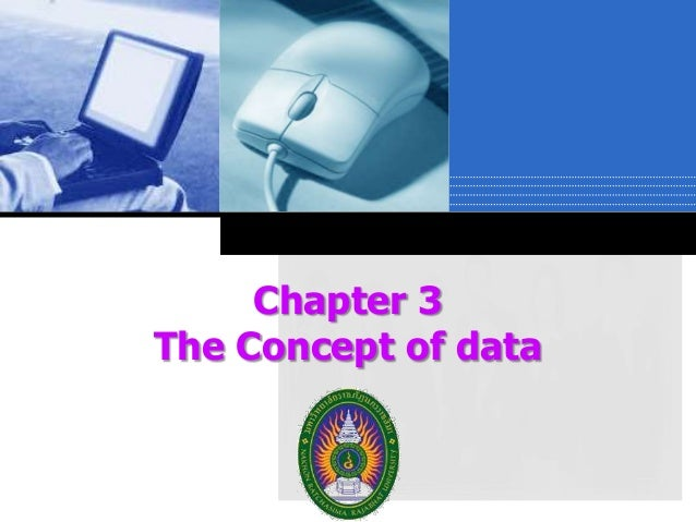 Chapter 3 The Concept of data Company  LOGO