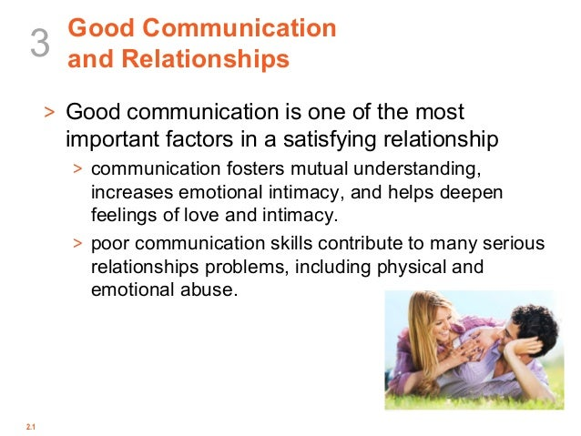 importance of communication in a relationship yahoo