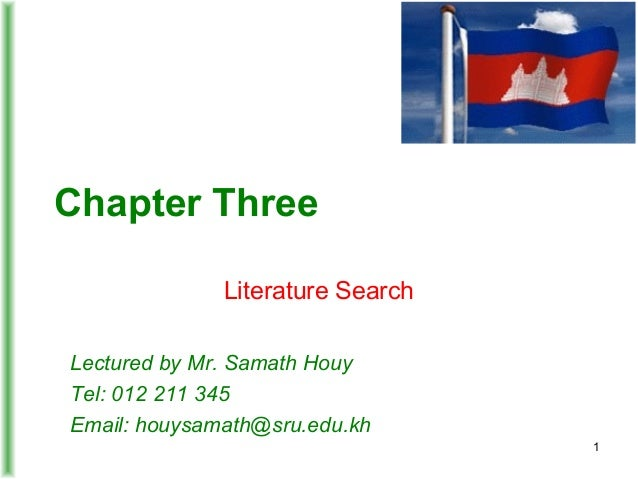 RM 03 - Literacture Search