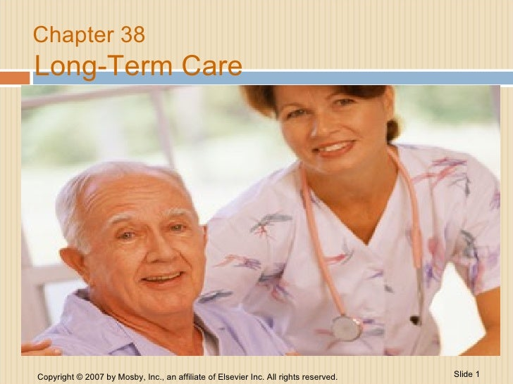 Chapter 38 Long-Term Care