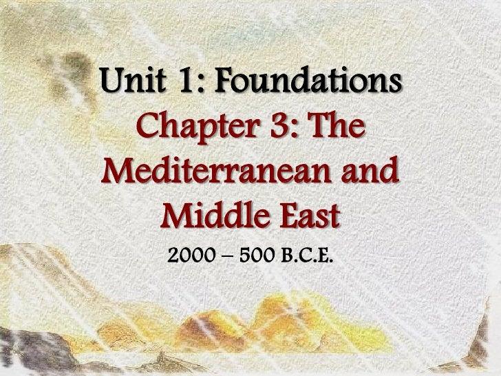 AP World History Chapter 03