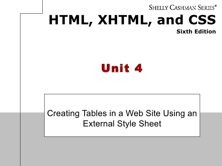 Unit 04 PowerPoint (WebA)