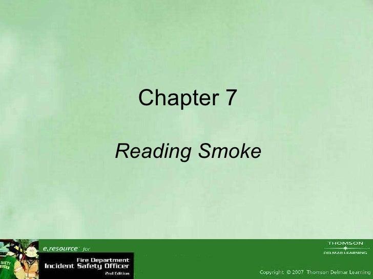 Chapter 7 Reading Smoke