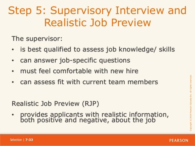 explain how realistic job previews rjps operate Full-text paper (pdf): a historical approach to realistic job previews.