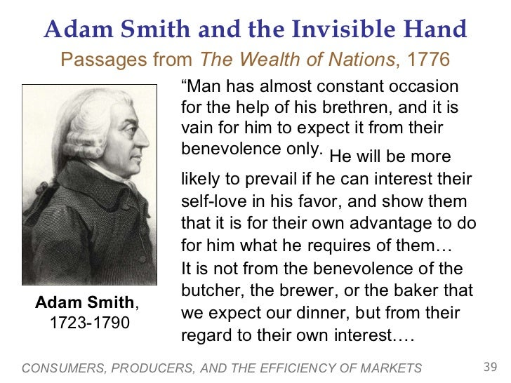 the invisible hand theory essay Learn what the invisible hand is and where it came from find out how self-interest plays a key role in guiding the economy and how it can result.