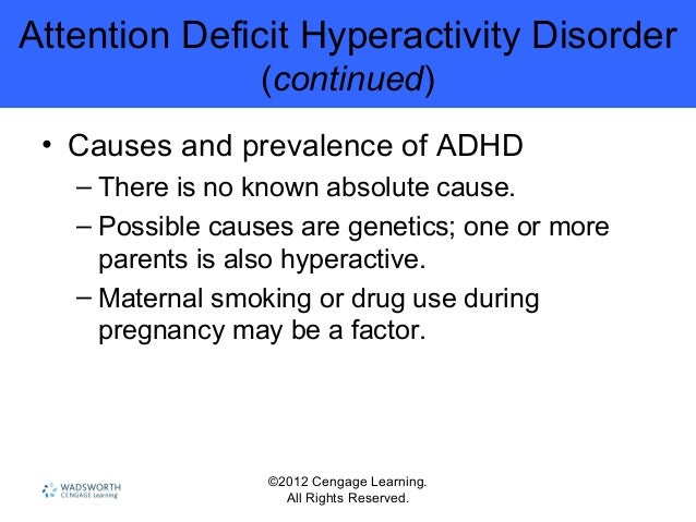 characteristics of attention deficit disorder Abstract: this study compared the academic and learning characteristics of   attention deficit/hyperactivity disorder (ad/hd), (b) giftedness, and (c).