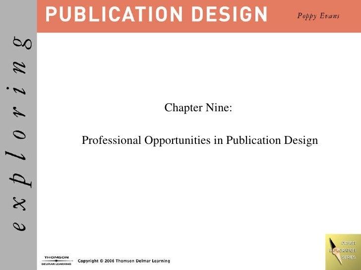 Publication Design Chapter 09
