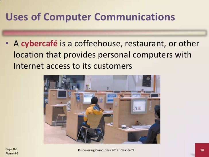 The use of computers in restaurants what do you think?